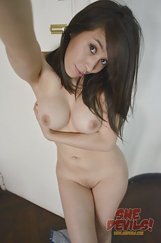 Busty girl friend from Argentina naked