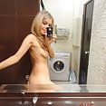 Scandalous pics of self shot nude realtor - image