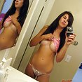 Self shot and hot amateur young girl friends - image
