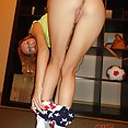 Amateur EXGFs caught naked at home - image