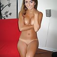 Tanned skin and tight body on this teen girl friend - image