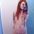 Red Head and white skin - image