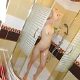 Blonde Latvian nude girl friend - image
