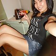 Skinny and fun young Chinese girl friend Miranda nude - image