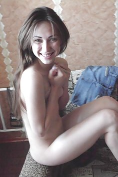 Slim and fit nude Russian ballerina