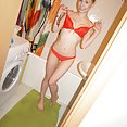 Cute Eva slippery and nude in the shower - image
