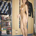 Cute brunette Silvia from Brazil has some new nude pics - image