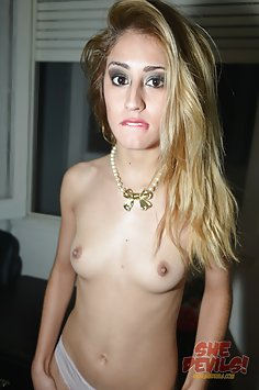 More of gorgeous blonde Mika from Argentina naked