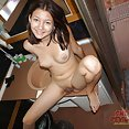 Puffy and cute teen Russian webcam girl Lavorina - image