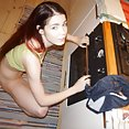 Red headed and pale dream girl Lovenia from She Devils webcams - image