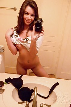 Self shot and hot real naked girlfriends with great bodies