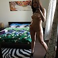 Nude selfies from cam show dream girl Mila - image