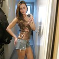 Nude selfies from puffy nipple webcam teen Sylvia at She Devils - image