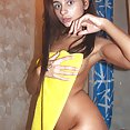 Wet fun with skiny Russian chick Dominika - image